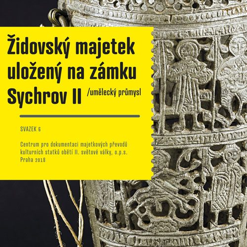 Newly published: Jewish property deposited at the Sychrov Castle II / Applied Arts