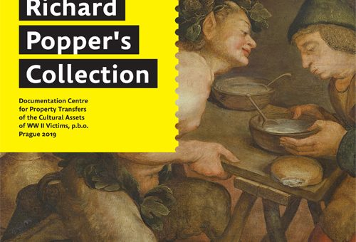 Newly published: Paintings from Jewish collections at the National Gallery in Prague – Richard Poppers´s Collection