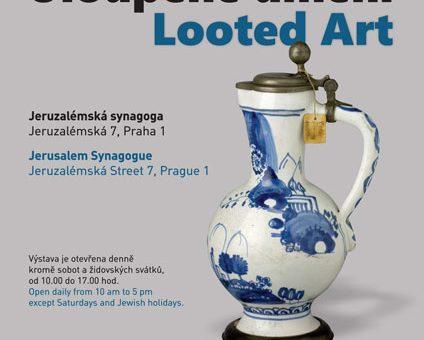Výstava Uloupené umění v Jeruzalémské synagoze v Praze